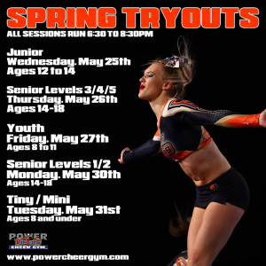 Sprint Tryouts
