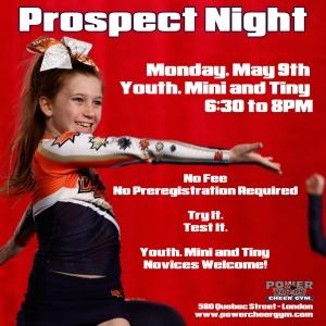 Youth / Mini / Tiny Prospects Night